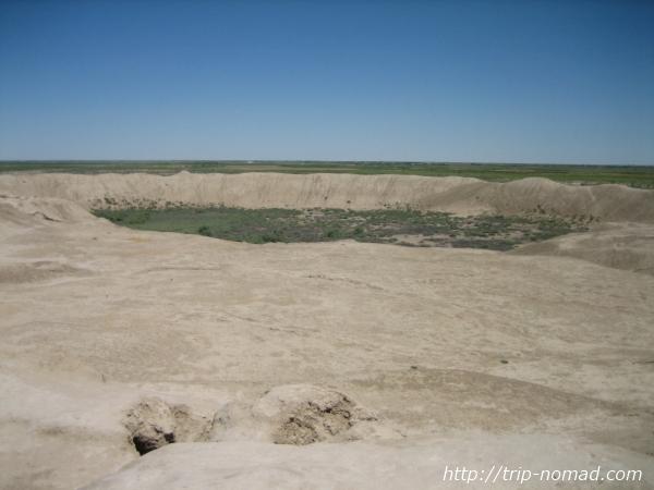 トルクメニスタン世界遺産『メルヴ遺跡』エルク・カラ画像