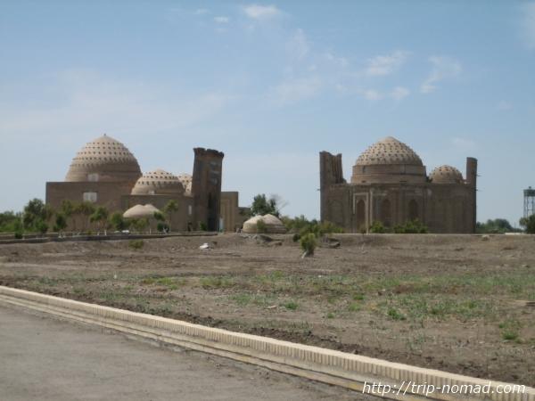 トルクメニスタン世界遺産『クフナ・ウルゲンチ』「ナジムアッディン・アル・クブラ廟」と「スルタン・アリ廟」画像