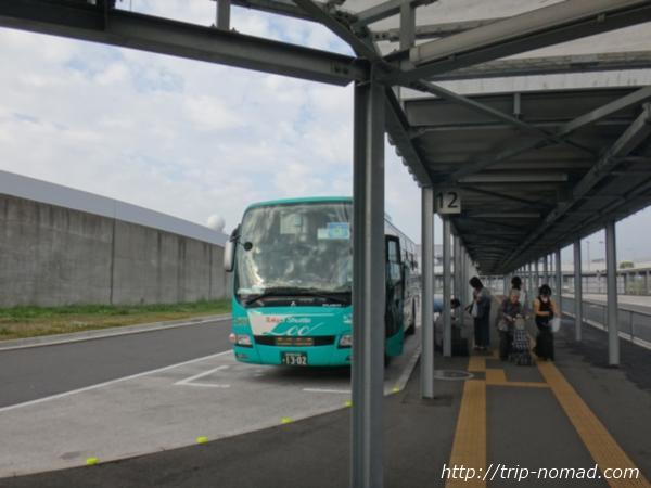 『東京シャトル』が到着した「第3ターミナル」