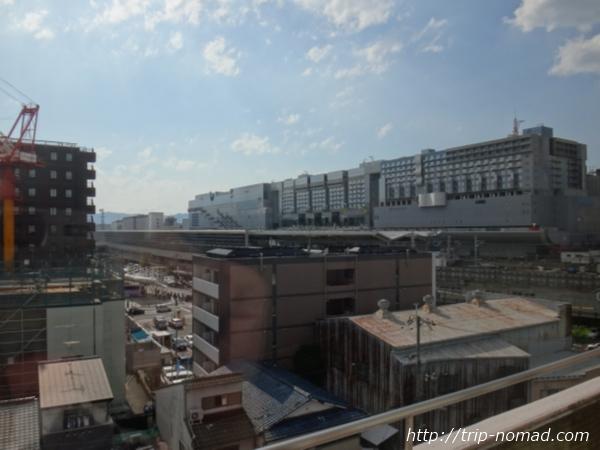 『ホテルセントノーム京都』からみた京都駅