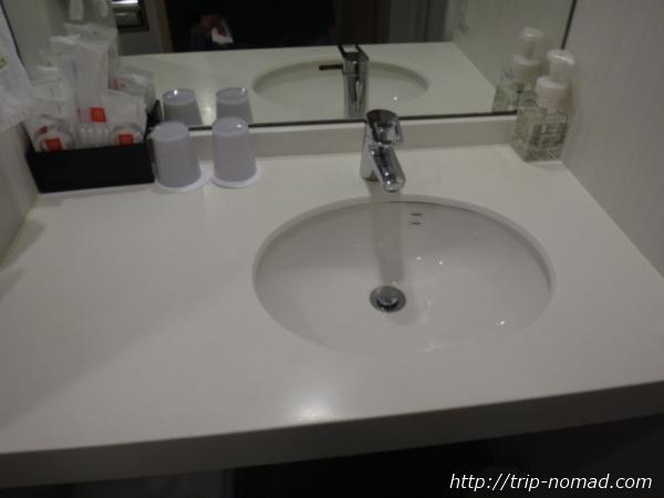 『神戸元町東急REIホテル』洗面台