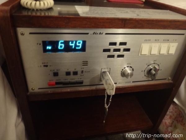 『名古屋クラウンホテル』ルームキーを差し込む機器