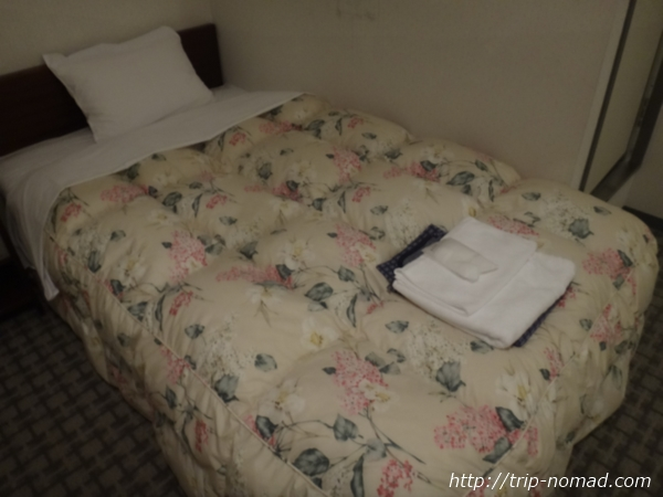 """""""『名古屋クラウンホテル』ベッド"""