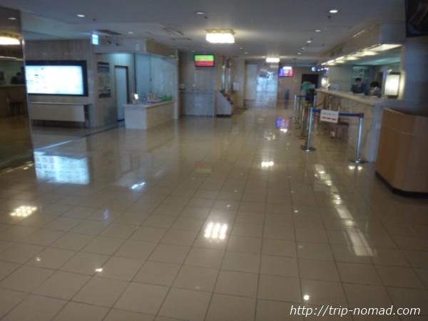 『名古屋クラウンホテル』フロント