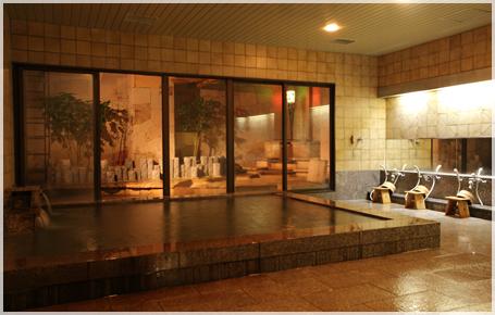 『名古屋クラウンホテル』温泉浴室