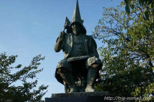 加藤清正公の銅像