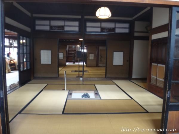 青森県金木駅「斜陽館」