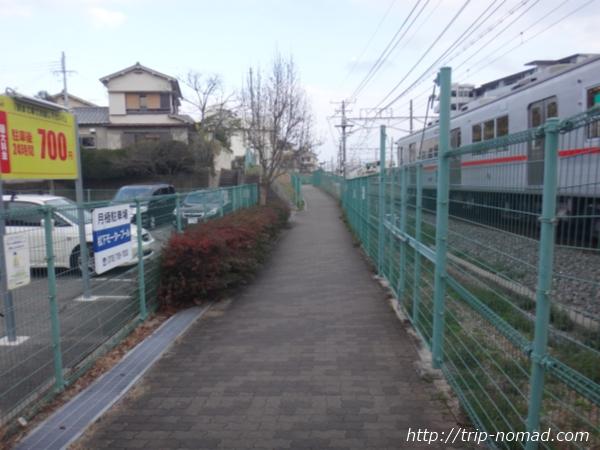 神戸『五色塚古墳』へ行く道