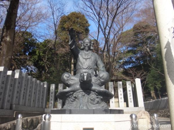 『保久良神社』椎根津彦命(シイネツヒコノミコト)の銅像