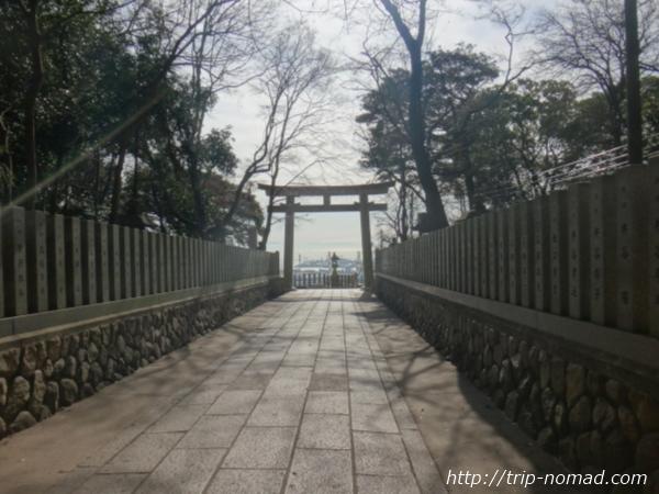 『保久良神社』参道