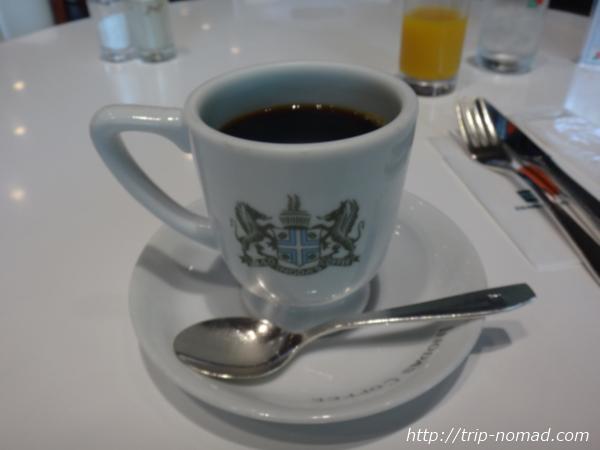 京都『イノダコーヒ』本店「京の朝食」の「アラビアの真珠」