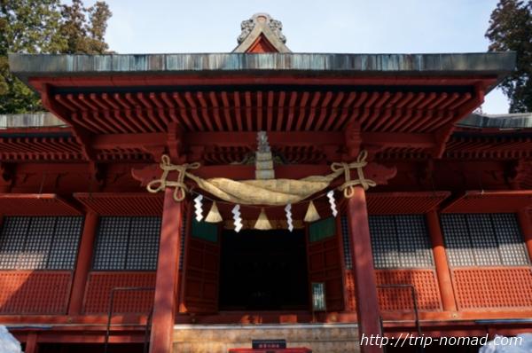 青森県弘前市『岩木山神社』社殿
