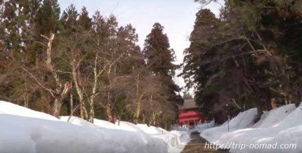 青森県弘前市『岩木山神社』楼門
