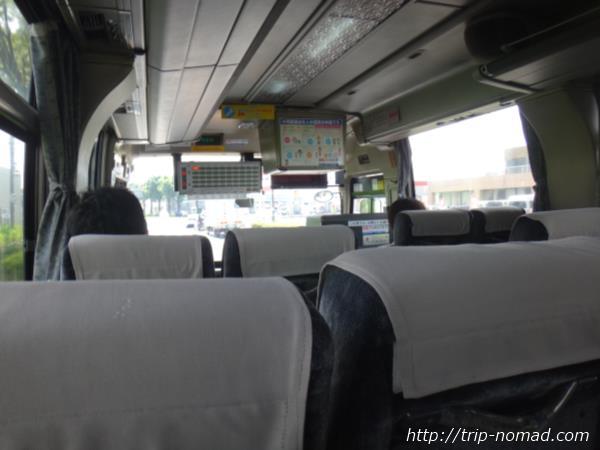 鹿児島空港~枕崎駅までのバスの車内