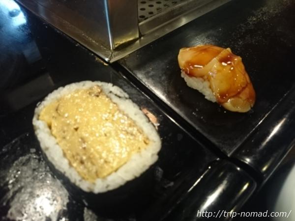 人形町おすすめランチ『太田鮨』玉子焼きとホタテ