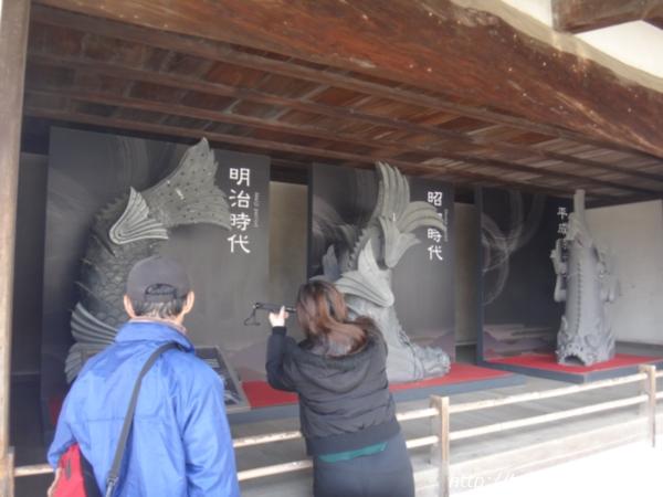 姫路城のしゃちほこ