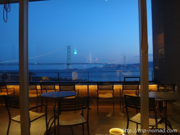 「スターバックス西舞子店」窓から見える絶景②