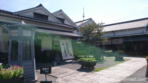 『明治蔵【薩摩酒造花渡川蒸溜所】』外観