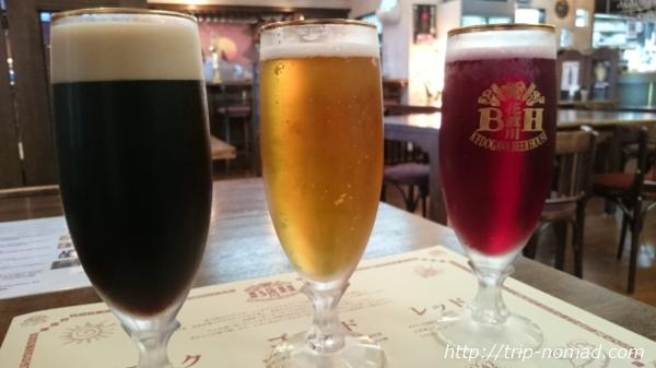 『明治蔵【薩摩酒造花渡川蒸溜所】「花渡川ビアハウス」の芋ビール飲み比べセット』