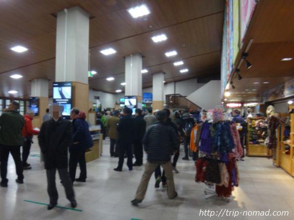 立山黒部アルペンルート「立山駅」の内部