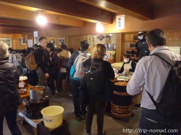 飛騨高山「大のや醸造」店内