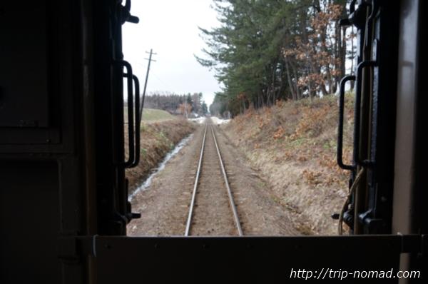 青森県『ストーブ列車』車窓からの景色