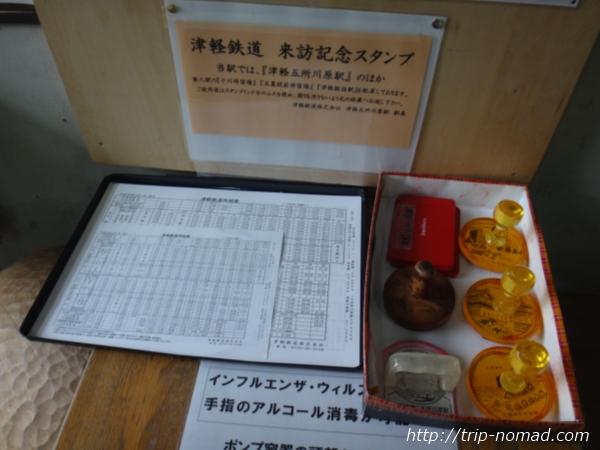 青森県『ストーブ列車』記念スタンプ