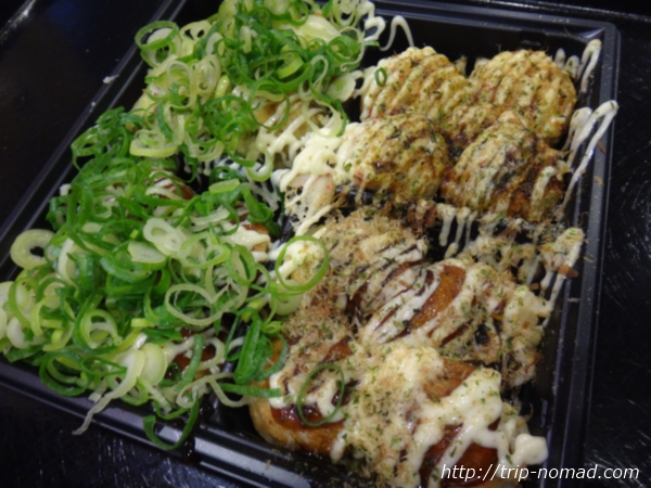 大阪名物『たこ焼き』人気ランキング上位4件食べ比べ