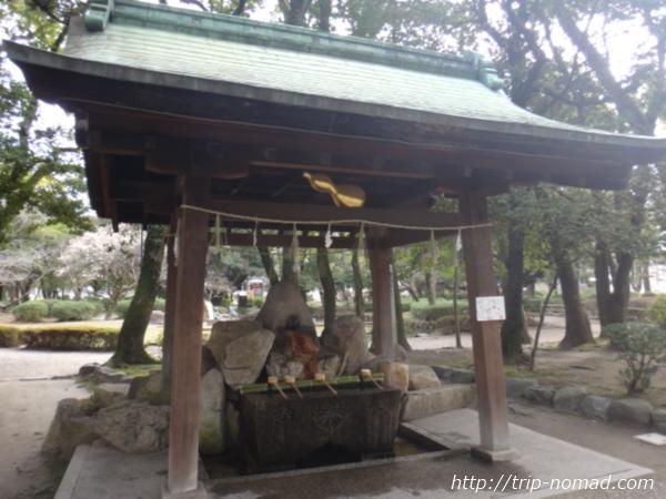 名古屋『豊国神社』手水場