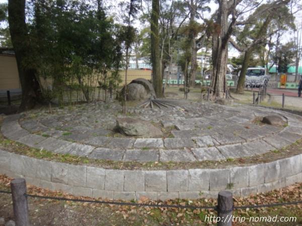 名古屋『中村公園』「豊公誕生之地」碑