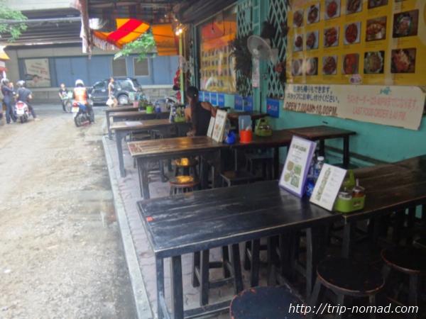 バンコク『イムチャン』「プロンポン駅」そばの1号店(屋台式)外観
