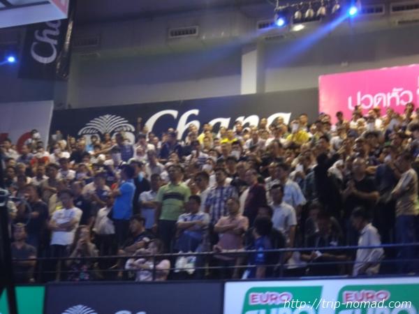 バンコク・ムエタイ『ルンピニー・スタジアム』2階席