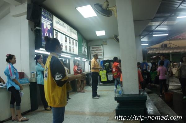 バンコク・ムエタイ2012年当時の『ルンピニー・スタジアム』チケット販売窓口