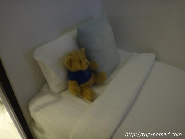 """""""『S ボックス スクンビット ホテル』ベッド"""