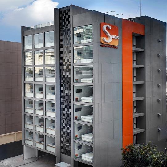 『S ボックス スクンビット ホテル』ユニットバス