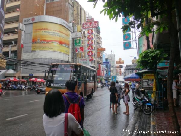 バンコクチャイナタウン『ヤワラート』のメインストリート「Yaowarat Rd(ヤワラート通り)」