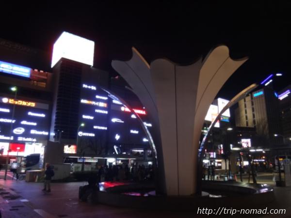 名古屋駅前『ゆりの噴水』