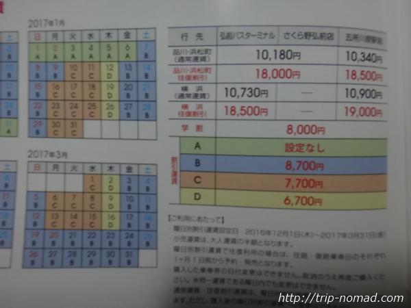京急高速バス『ノクターン号』運賃設定