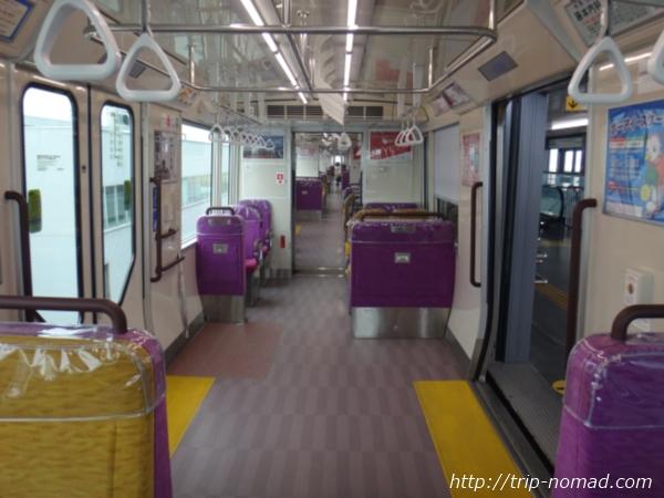 神戸『ポートライナー』「2000型(改良型)」車内