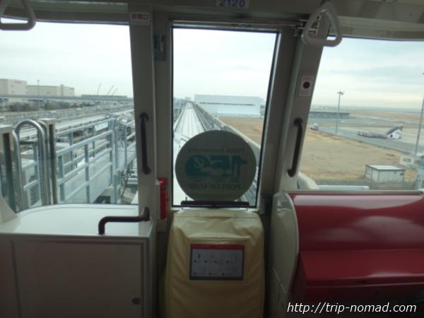 神戸『ポートライナー』「2000型(改良型)」先頭車両先頭部分