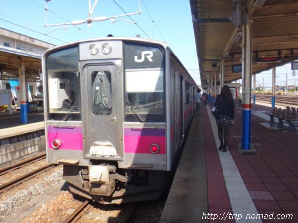 秋田駅『701系』