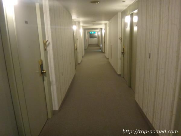 『コートホテル旭川』廊下