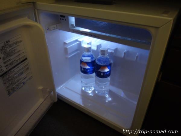 『ホテルガーデンスクエア静岡』冷蔵庫