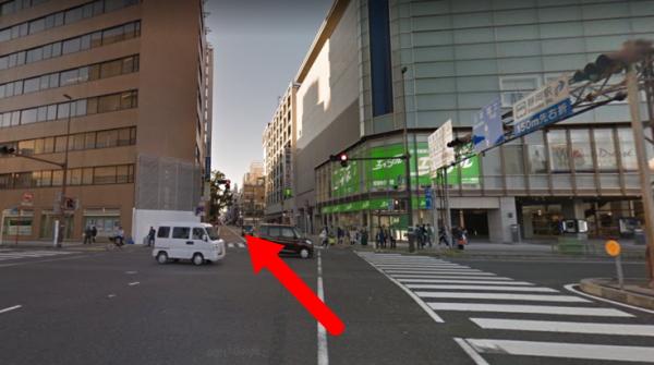 『ホテルガーデンスクエア静岡』行き方