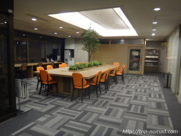 『スマイルホテル小樽』フロント