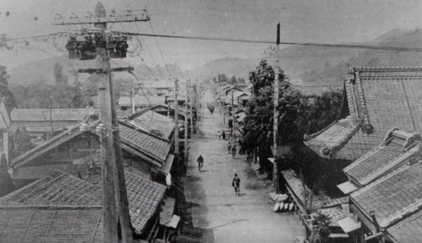 昔の桐生新町