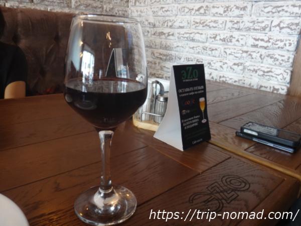 モスクワグルジア料理店『EZO』グルジアワイン・サペラヴィ画像