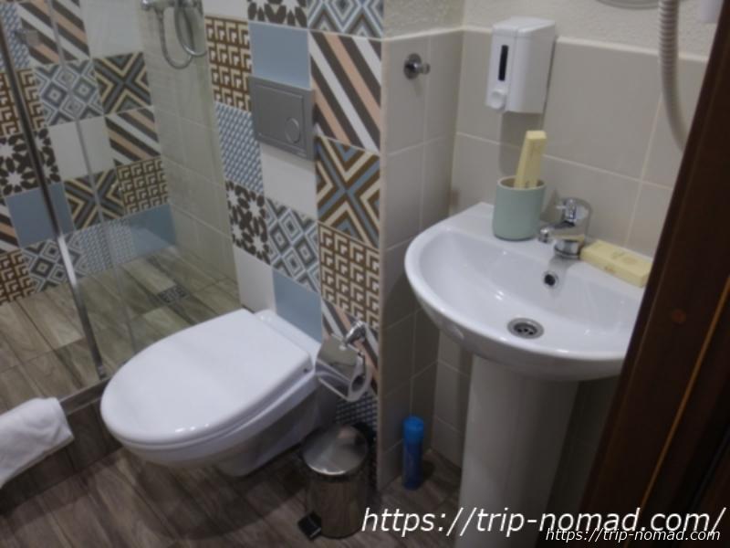 ロシアのホテル『トイレ』画像