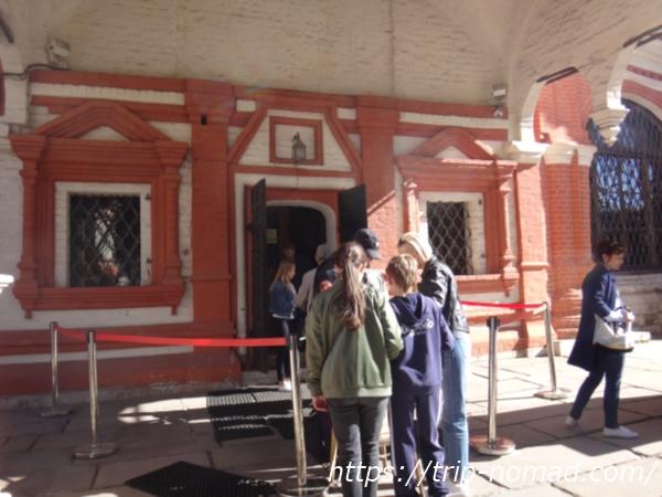 ロシアモスクワ『聖ワシリー大聖堂』入口