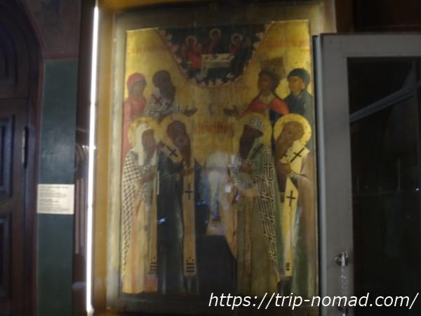 ロシアモスクワ『聖ワシリー大聖堂』イコン